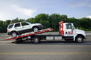 Vehicle Repossession Tow Truck
